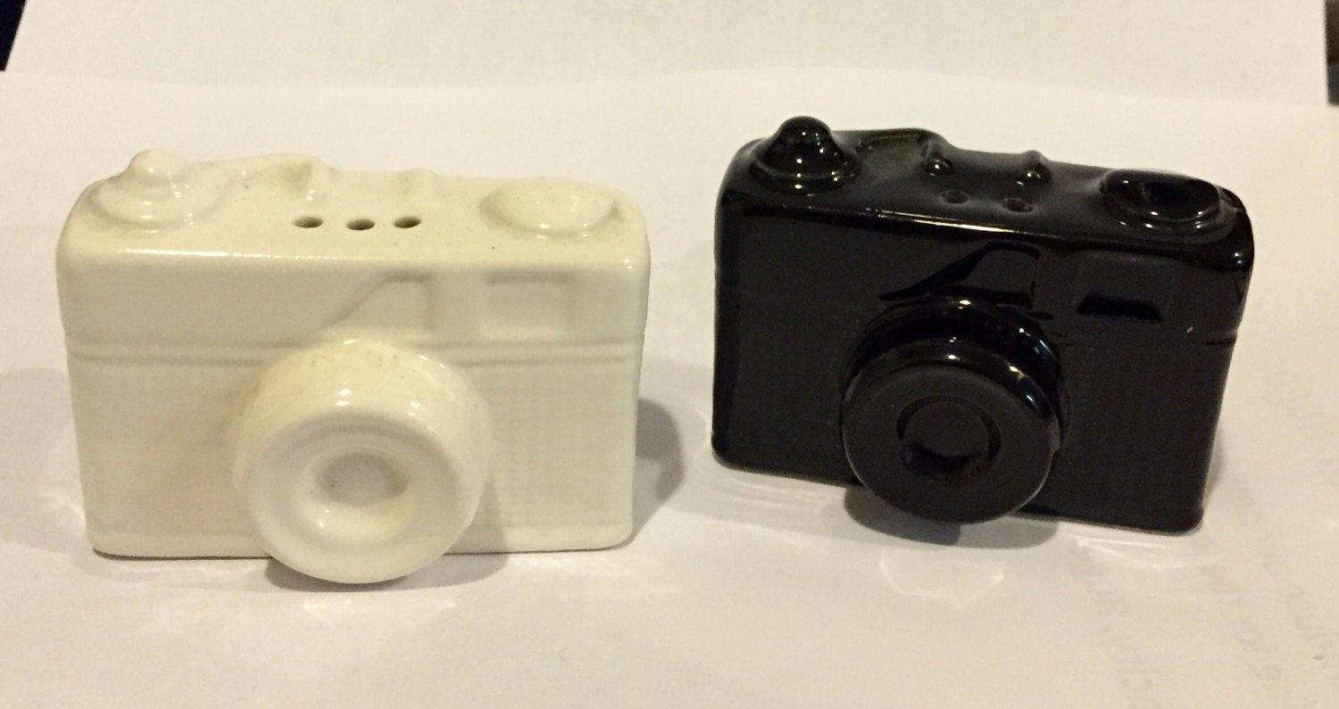 Camera Salt And Pepper Shakers Cool 1970 39 S Item By
