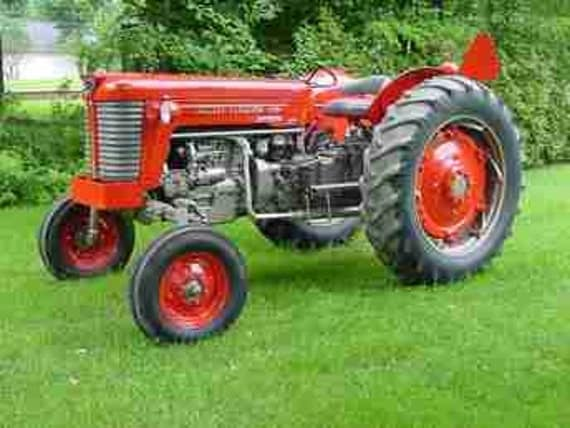 Massey Ferguson Mf 65 Parts Manuals 420pg For Gas Diesel