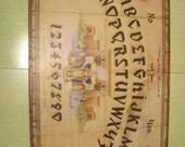 Vintage 1940's Hasko Egyptian Mystic Board Ouija Spirit Board Halloween