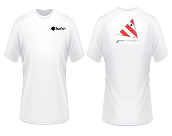 Sunfish Red and White T-Shirt