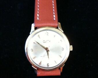Vintage 10k Yellow Gold GATX Hamilton Men's Watch, Thin-O -Matic.