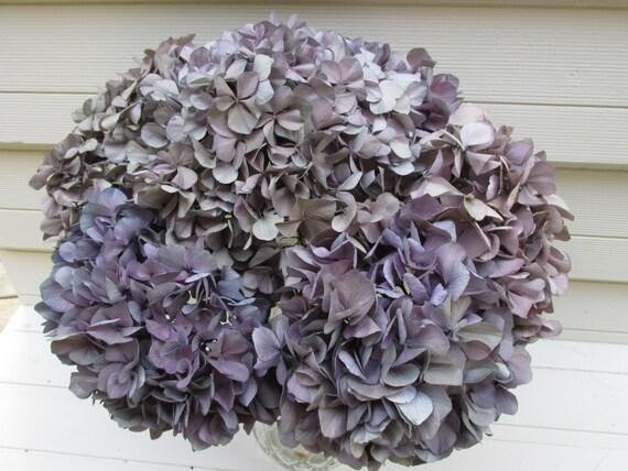 6 belle lavande nuances d 39 hortensia fleurs bouquet s ch. Black Bedroom Furniture Sets. Home Design Ideas