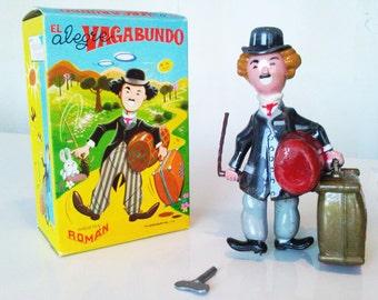 Charlie Chaplin, Alegre Vagabundo, Wind-up toy