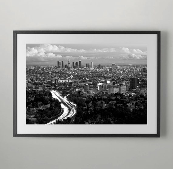 101 freeway hollywood and downtown los angeles wall decor Home decor los angeles