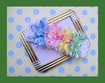 Multi Color Soft Stretch Baby Headband