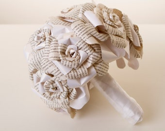 Origami bouquet, Rose Paper Flower Bouquet, Origami Wedding Bouquet, Origami flowers, Origami flower bouquet