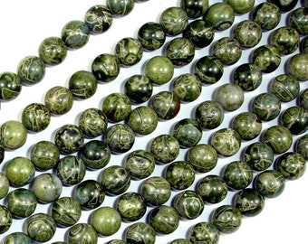 Alligator Skin Jasper Beads, Round, 6mm, 16 Inch, Full strand, Approx 63 beads, Hole 1 mm, A quality (288054019)