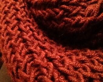 Women's Infinity Scarf, Knit