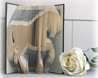 Book Folding Pattern Horse + FREE Tutorial