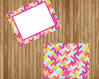 Flat Aztec Note Cards