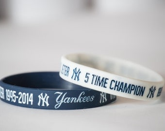 Derek Jeter Commemorative New York Yankees wristband - bracelet - bands