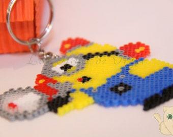 Minion firefighter - Hama Beads