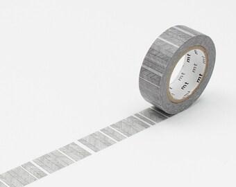 mt washi tape script border monochrome