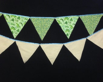 Pond Creatures Bunting Flag