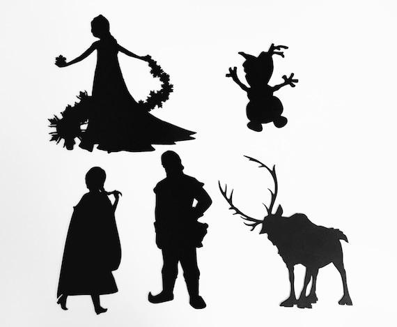 Frozen Disney Movie Five 5 Silhouette Laser by ...