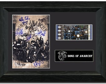 Sons of Anarchy 35 mm Framed Film Cell Display Stunning Collectible Jackson 'Jax' Teller signed