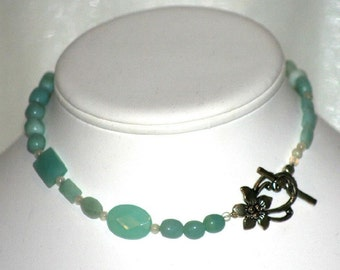 Trendy Amazonite Necklace