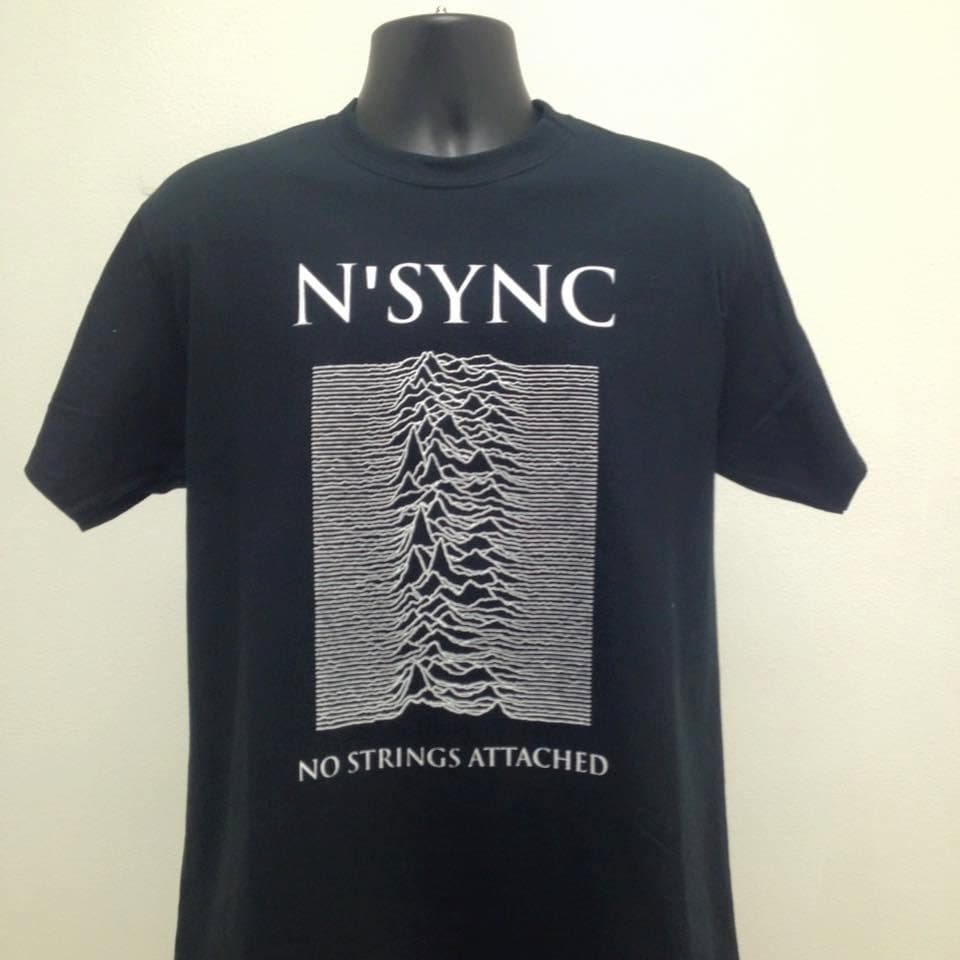 nsync no strings attached joy division unknown pleasures mash. Black Bedroom Furniture Sets. Home Design Ideas