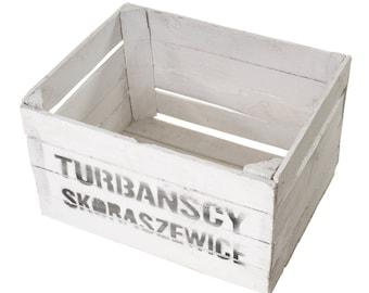 """Apple box """"Turbanscy"""" white"""