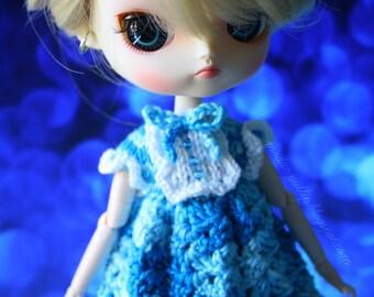 Lolita Dress Blue Dal Obitsu 23 21 Buttons Sweet