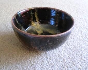 Handmade Tenmoku Bowl
