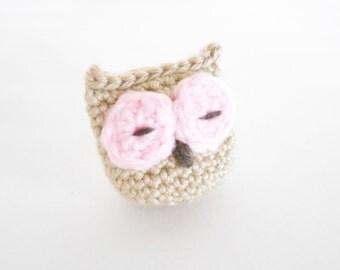 Crochet Catnip Toy - Crochet Catnip Owl for Cats and Kittens - Owl Toy for Cats - Crochet Owl Toy -  Present for Cats - Owl Catnip Toy