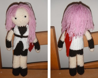 Lightning Final Fantasy XIII Crochet Pattern