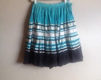 """1950""""s Rockabilly/Western swing skirt"""