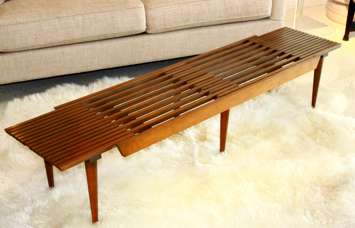 Vintage Expandable Coffee Table By Amidcenturymindset On Etsy