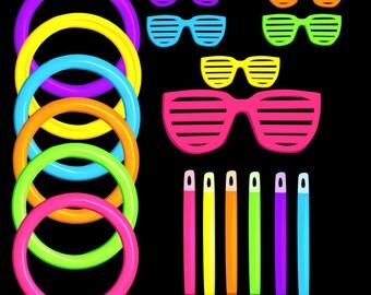 Mini Neon Rave Clipart