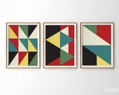 Mid century print poster, print poster, Mid century art, Retro Print Poster, Geometric art print, Abstract Prints, Posters