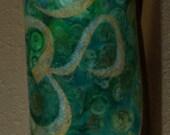Mythala Yoga Mat Bag: Green Aum; Mandala...Myth...Mythala (Tote, Yoga Bag, Yoga Practice, Pilates Bag, Yoga Gear, Meditation, Yoga Mat)