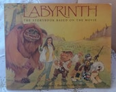 SALE Labyrinth Storybook based on the movie 1986 25 per cent off until end of January!