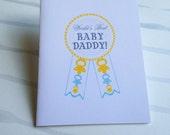 World's Best Baby Daddy Card