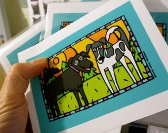 Your Custom Pet Portrait on Notecards!