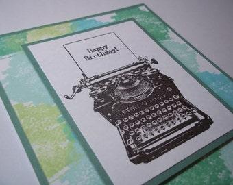 Birthday Card, Happy Birthday Card, Greeting Card, Handmade Card, Birthday Greetings, Card for a Birthday