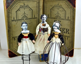 Mixed Media Art Dolls - Centennial Women