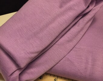 Stretch Jersey  Knit Fabric Lavender 1 Yard