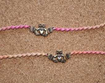 Sunset Claddagh Tie Ons