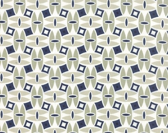 SALE - Daysail - Catamaran in Gray: sku 55101-24 cotton quilting fabric by Bonnie and Camille for Moda Fabrics - 1 yard