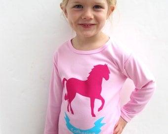 Personalised Horse Pyjamas