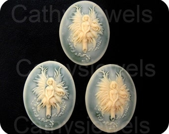 Three Pieces Fairy Of The Green Mist Cameo