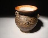 Rustic Textured Vase