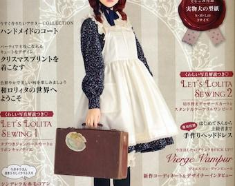 LOLITA Cosplay Vol6 n3896 Japanese Sewing Pattern Book