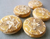 Queen Bee Coin Bead (1)