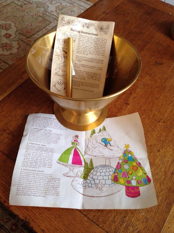 wilton 3d christmas tree cake pan instructions