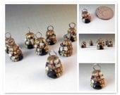 Tiny Bee Hive Charm