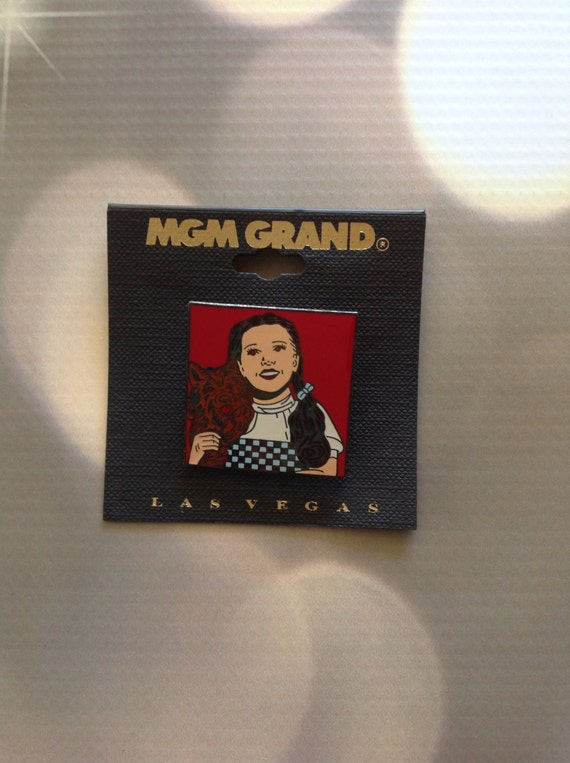 Wizard Of Oz Dorothy Metal Pin From Mgm Grand Las Vegas Mint