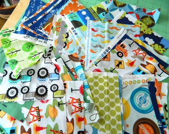 Fabric Scrap Pack, Fabric Scraps, Fabric Remnants, Cotton Fabric Remnants, Designer Cotton Fabric Scrap