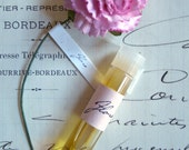 Flora Natural Perfume Sample Travel Size Artisanal Small Batch Handmade in Brooklyn, NY